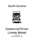 sc dmv drivers license manual